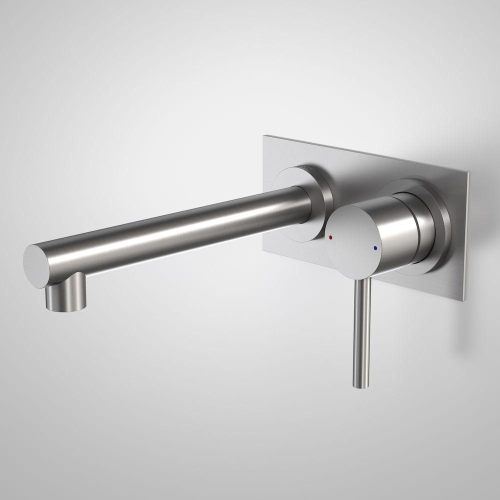 Titan Stainless Steel Wall Basin Mixer 99006SS5A