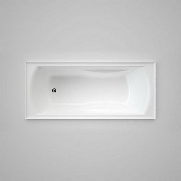 Maxton Drop-In Bathtub 1675 x 735 x 450mm Acrylic White