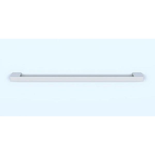 Studio 1 Collection Single Towel Rail 25 x 600 x 55mm Chrome Plated