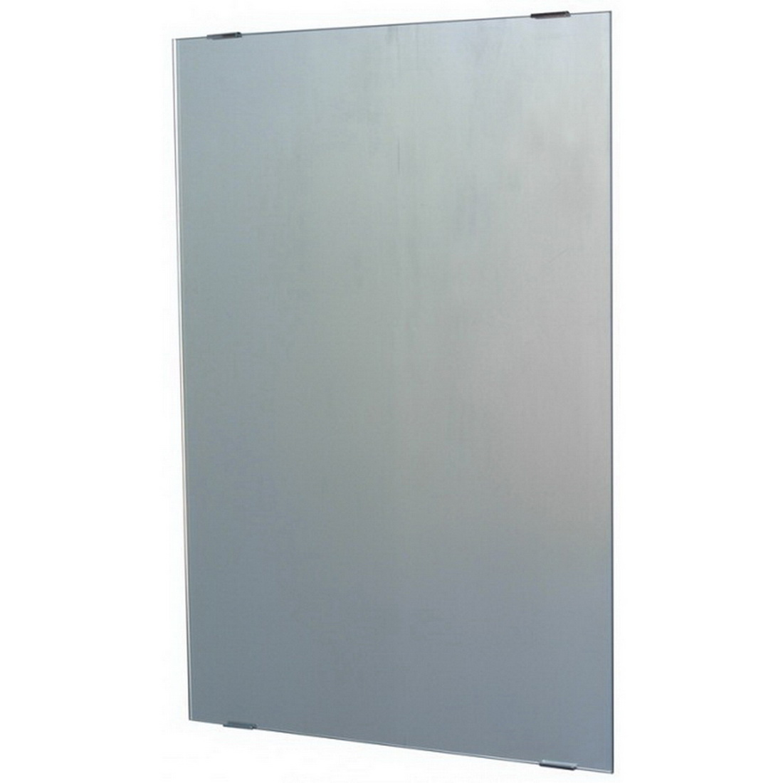 Mirrox Polished Edge Mirror with Clips 900 x 750mm 3630PEMCLIPS