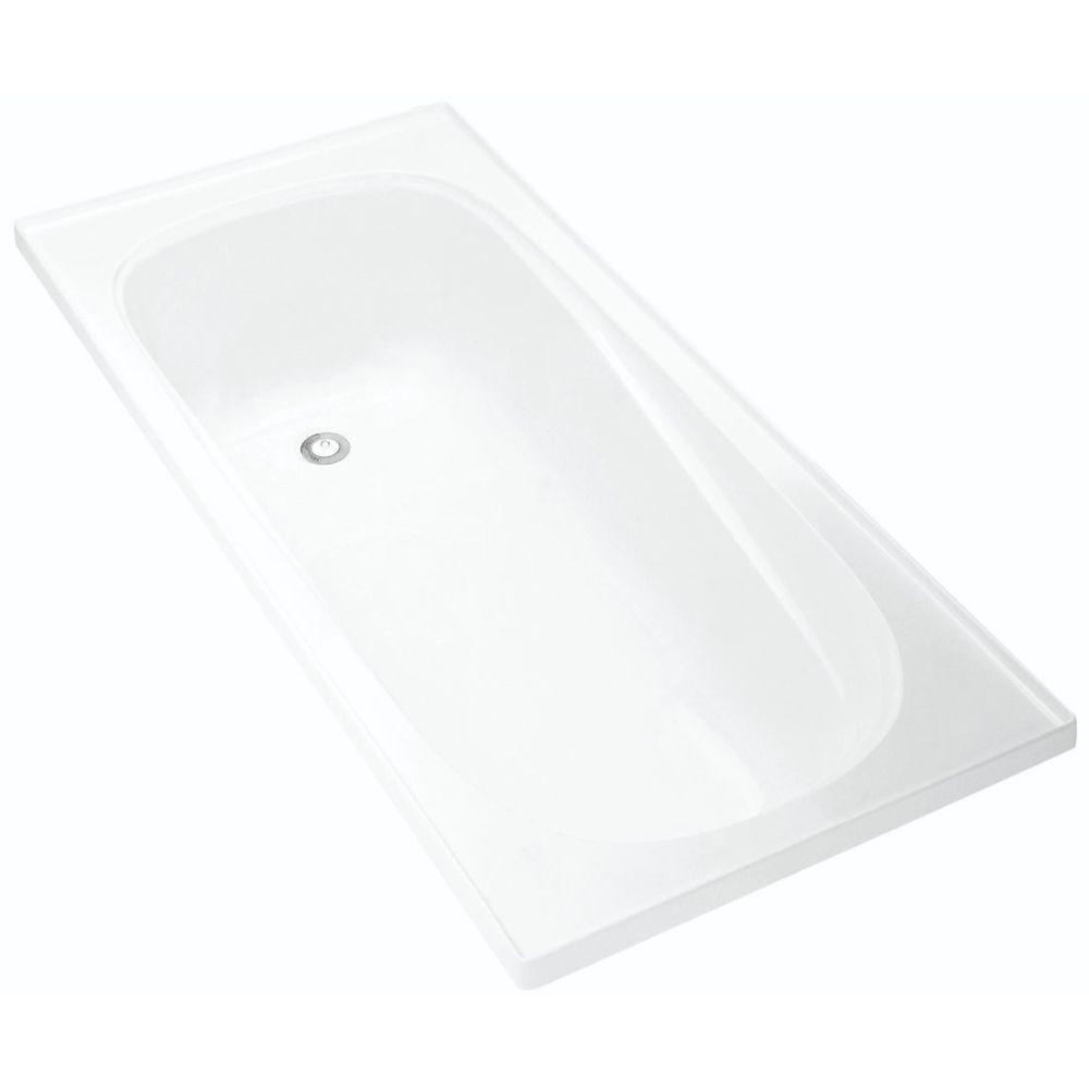 Pacific 1525 x 740mm Drop In Bath
