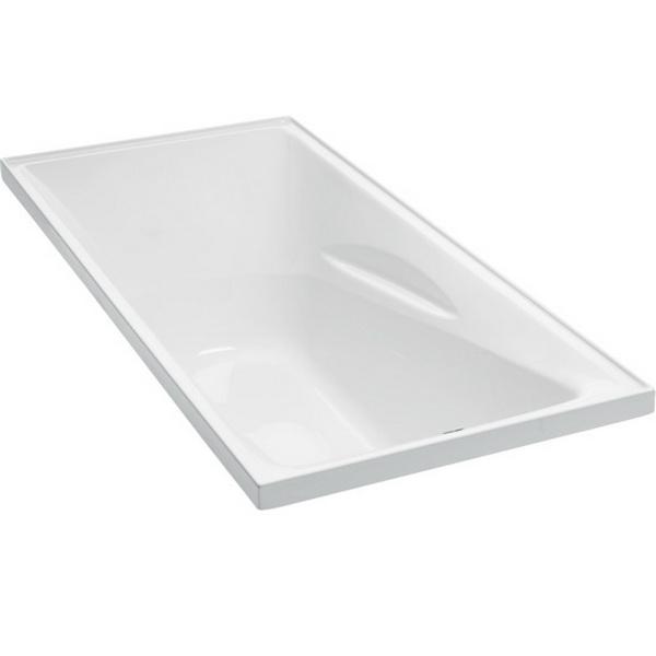 Studio II Rectangular Bath 1670 x 760mm White
