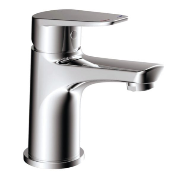 Urban Basin Mixer 108MM Lever Deck Mount Solid Brass Chrome