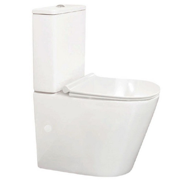 Linfa Close Coupled Back to Wall Toilet Suite 4.5/3L 365 x 610 x 830 mm P/S Trap Vitreous China