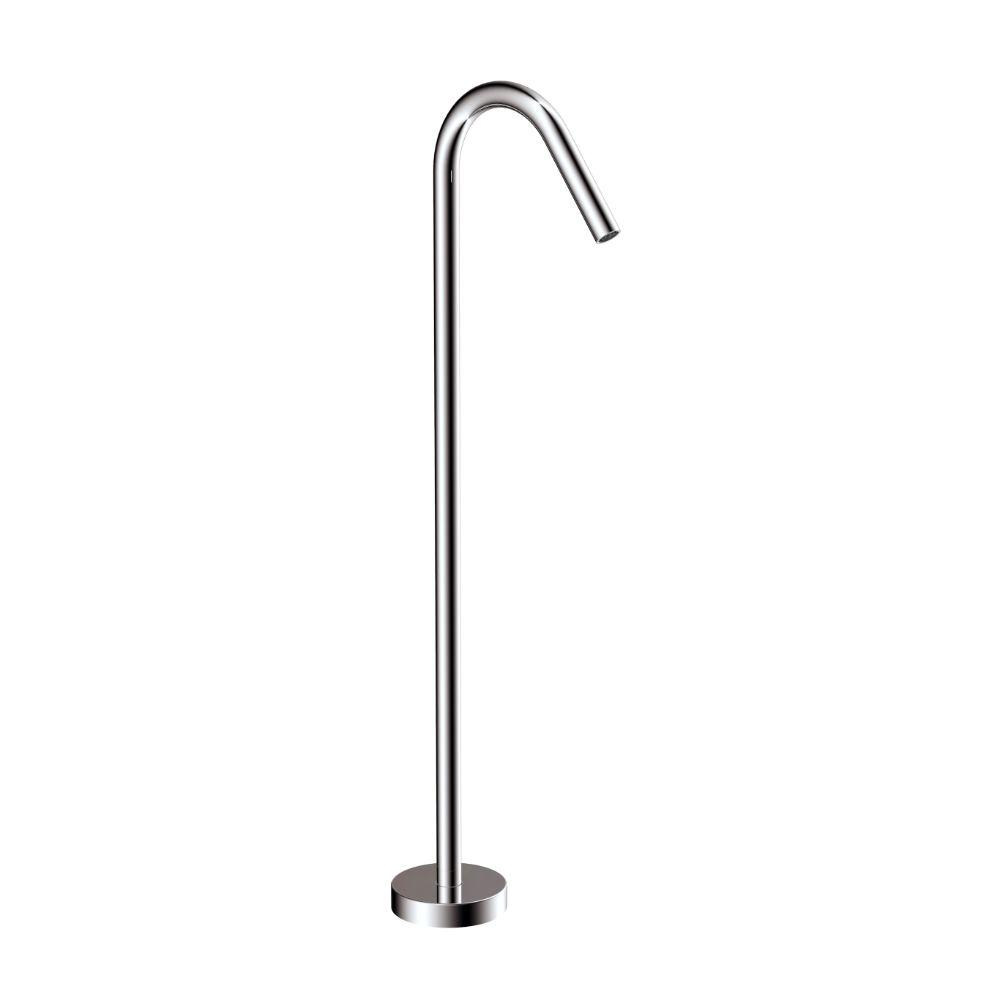 UNO Floor Standing Mains pressure Bath Spout Chrome