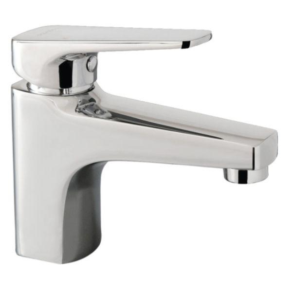 ISO Mains pressure Basin Mixer Chrome
