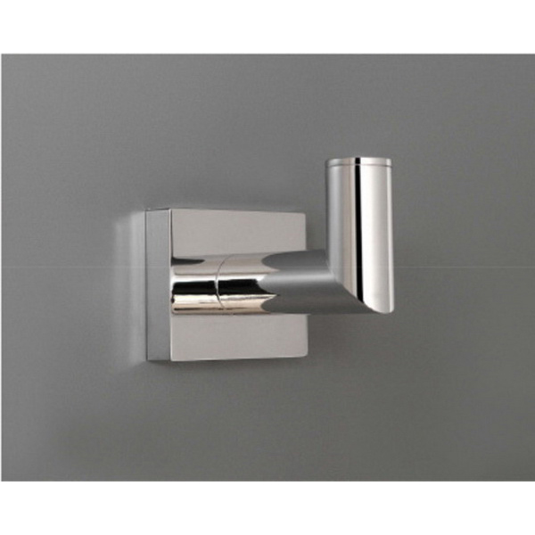 Porsha Single Robe Hook 71mm Chrome A6 RHK