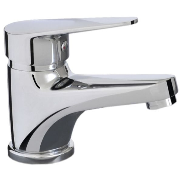 Brighton Basin Mixer 113mm Solid Brass Chrome
