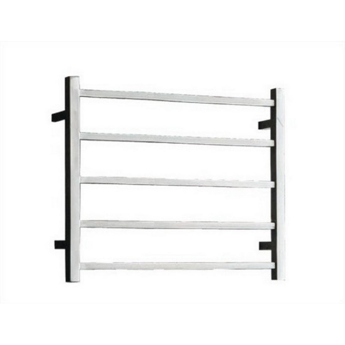 SQR Heated Towel Rail Ladder 530 x 600 x 122mm 5 Bars 58W