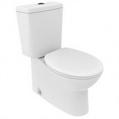 Robertson Eco Close Coupled Back to Wall Top Inlet Soft Close Toilet Suite 835 x 378 x 665 mm 12761.1