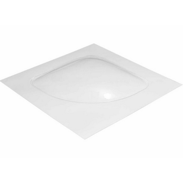700 Small Curved 1000 x 1000mm Clear C700S
