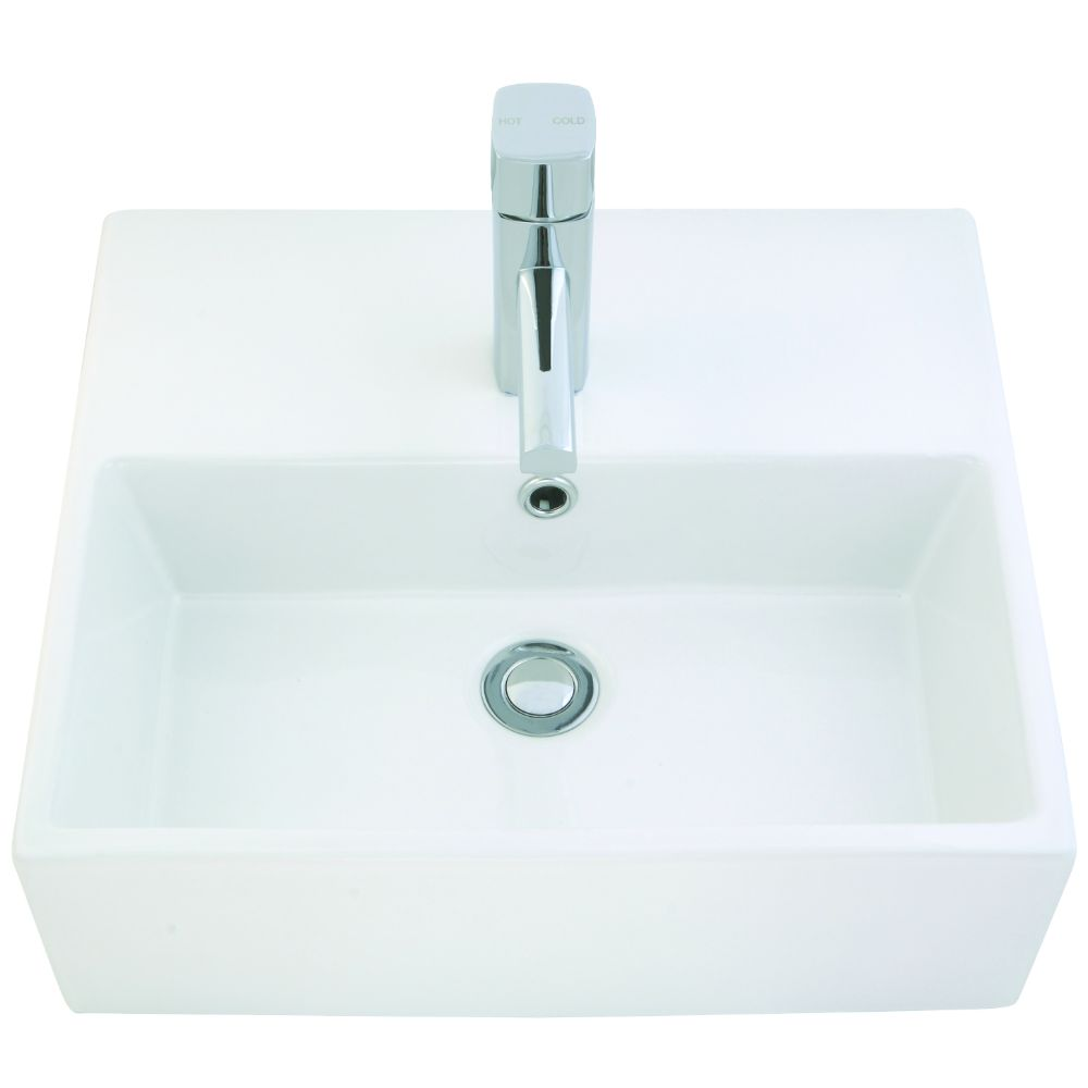 Amethyst Small Above Counter Basin 150 x 465 x 465 mm
