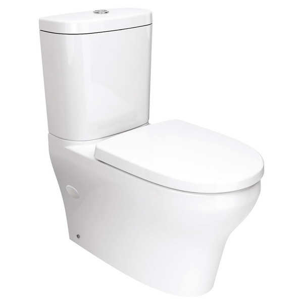 Mila Classic Dual Flush Back to Wall Toilet Suite 353 x 680 x 785mm White