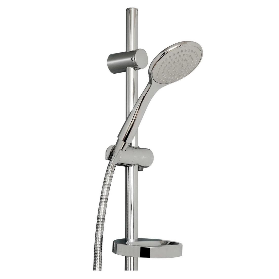 Brighton Single-Spray Slide Hand Shower Set Chrome