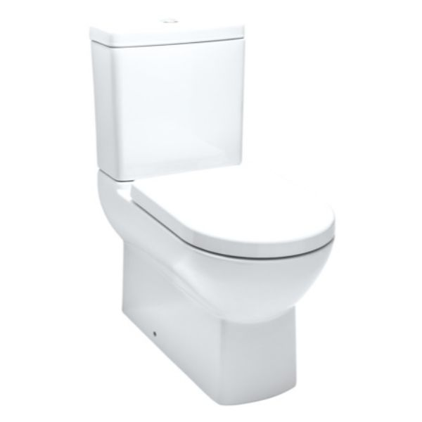 Dawson Dual Flush Back to Wall Toilet Suite 365 x 655 x 790mm P/S Trap Vitreous China White