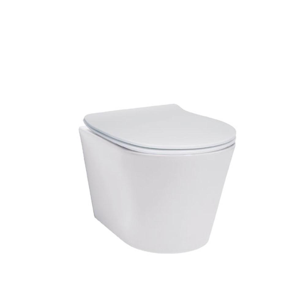 Edge Dual Flush Toilet Suite 3.5L Wall Hung Vitreous China