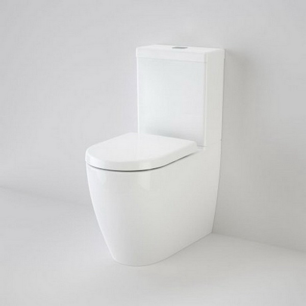 Urbane Dual Flush Close Coupled Toilet Suite 4.5/3L 350 x 660 x 860mm Wall Faced S Trap Vitreous China White