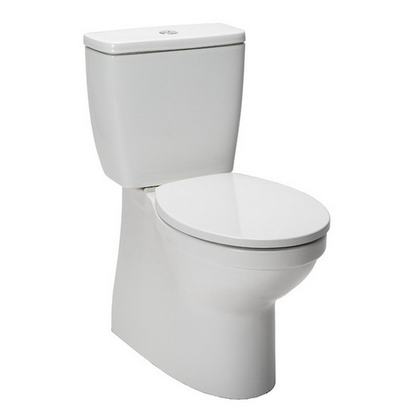 Valencia Back To Wall Toilet Suite 4.5/3L 366 x 660 x 820mm Vitreous China White