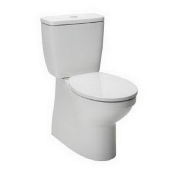 Valencia Back To Wall Toilet Suite 4.5/3L 366 x 660 x 820mm P/S Trap Vitreous China White