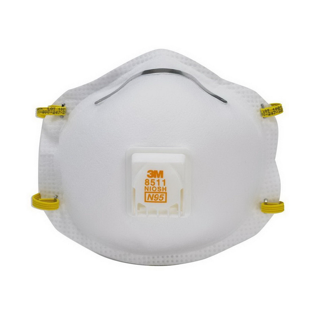 Sanding Respirator Disposable Valved Cupped