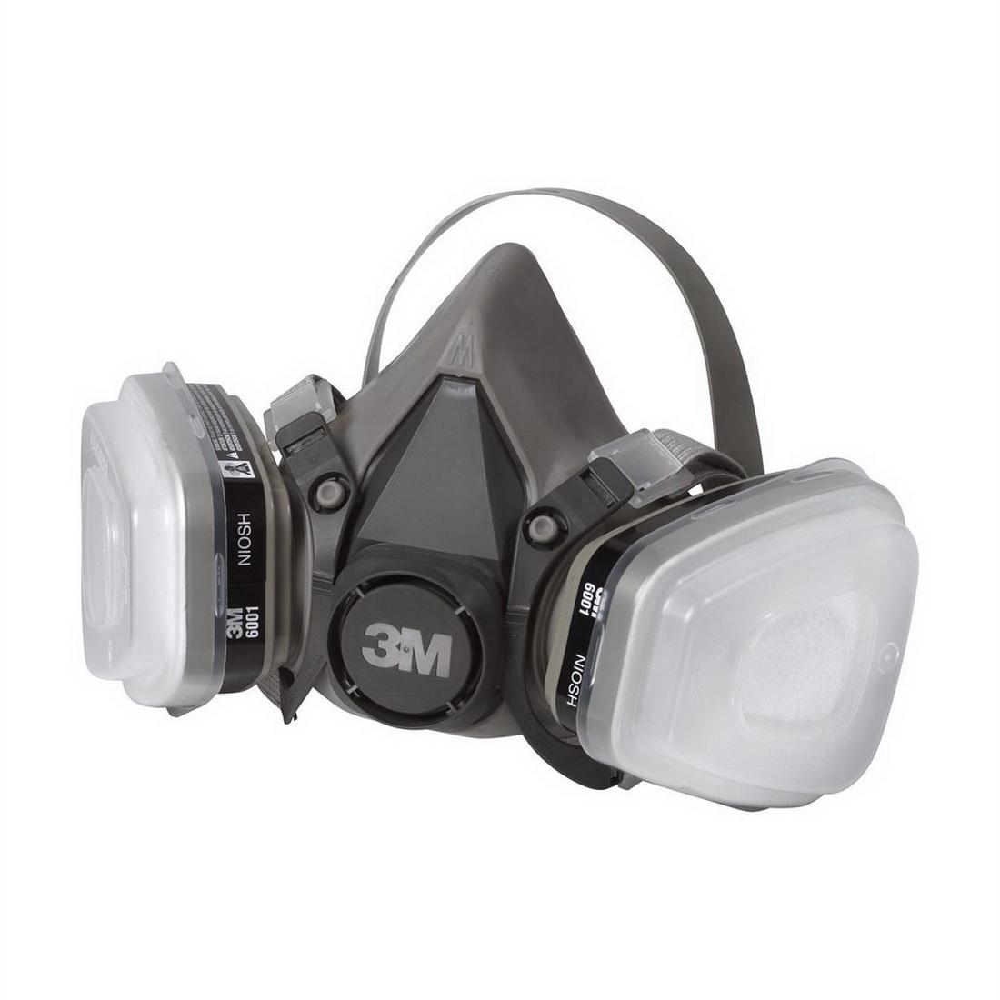 Medium Dual-Cartridge Respirator 6211P1-DC Grey