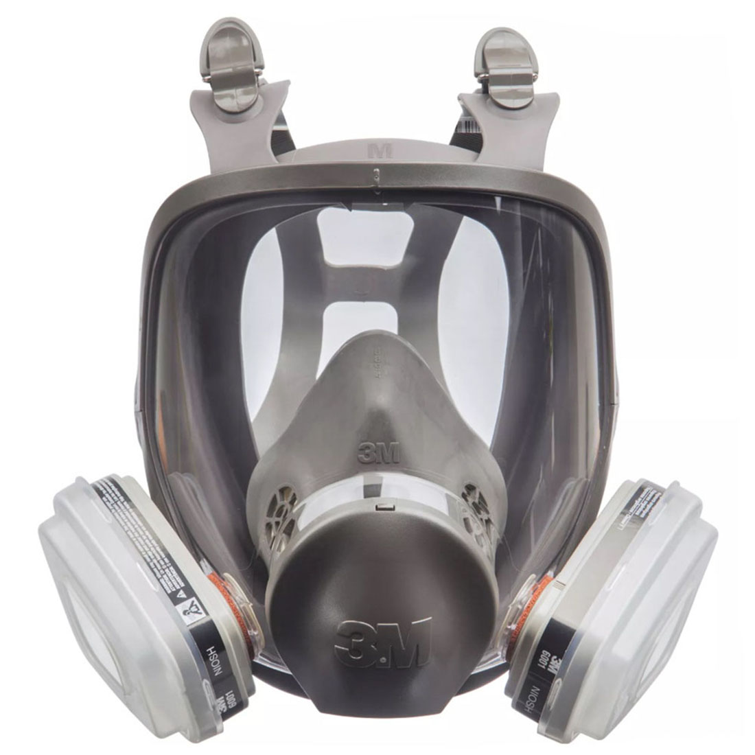 TEKK  Full Face Paint Project Respirator Grey 68P71