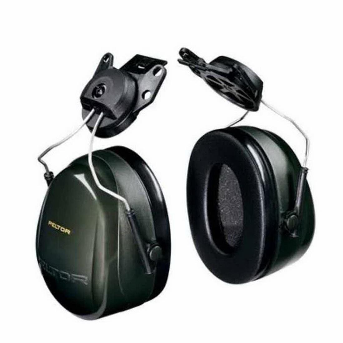 Peltor 30dB Earmuff Helmet Attach H7P3E 290 Universal Black