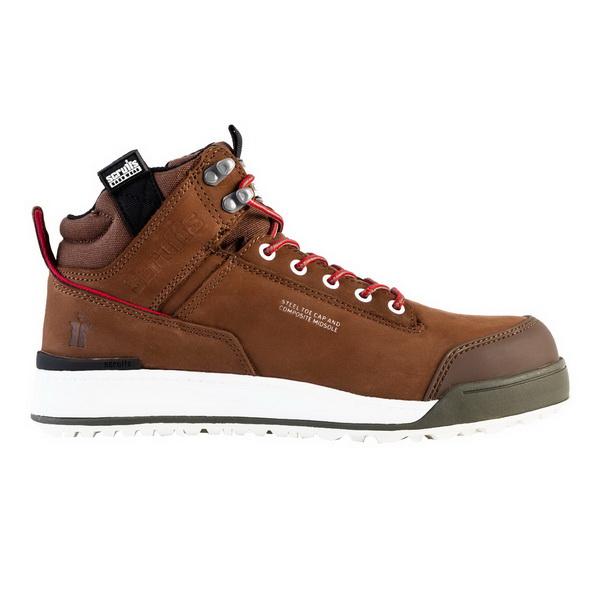 Switchback Lightweight Safety Boot UK12 Brown