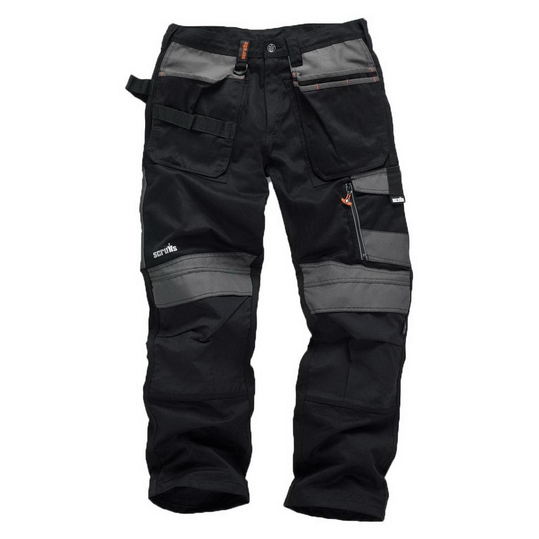 3D Trade Work Trouser 34in Black T51974