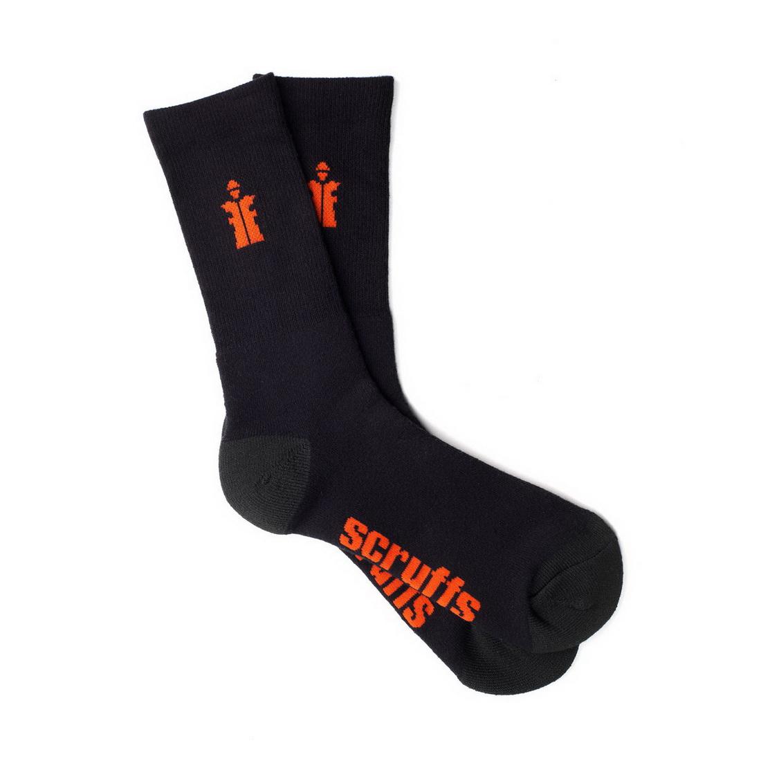 Worker Socks UK10-13 Black 3 Pack T53546