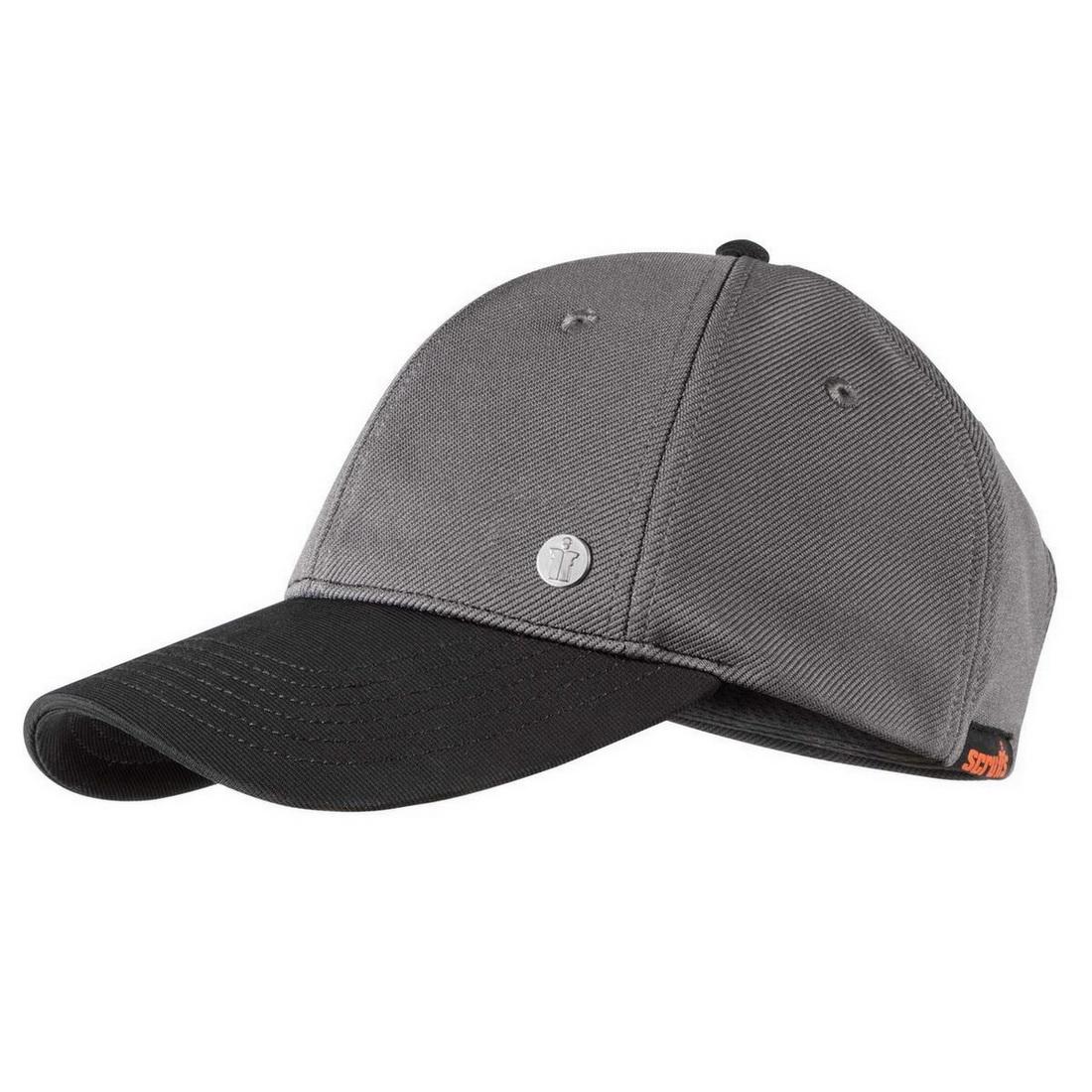 Stylish Baseball Work Cap One Size Grey T54540