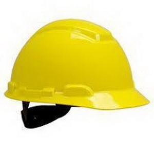 Peltor Hard Hat UV Indicator Yellow