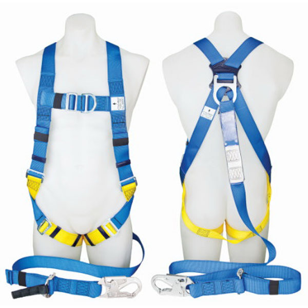 Protecta First Industrial Body Support Harness with 2m Integral Lanyard & Snap Hook Polyester