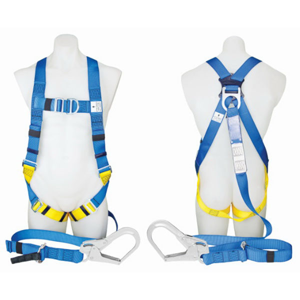 Protecta Body Support Harness With 2 x 2m Integral Lanyard & Scaffold Hook
