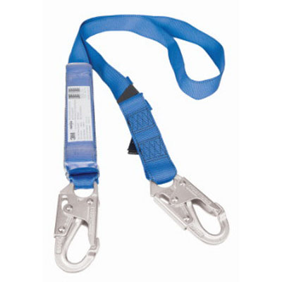 Protecta First EZ-Stop 2m Shock Absorbing Lanyard with Snap Hook