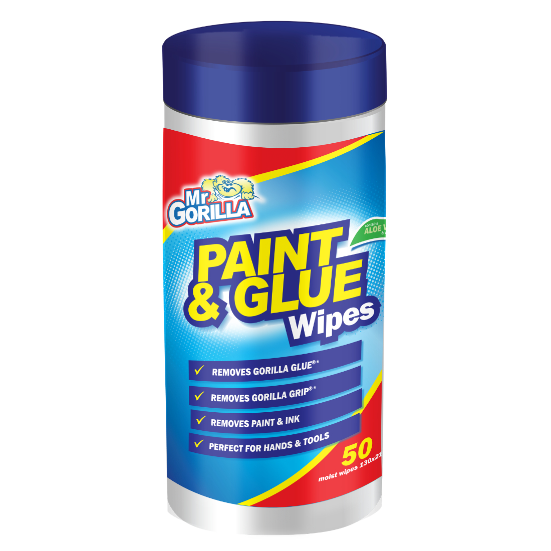 Mr  Paint & Glue Wipes 50 sheets