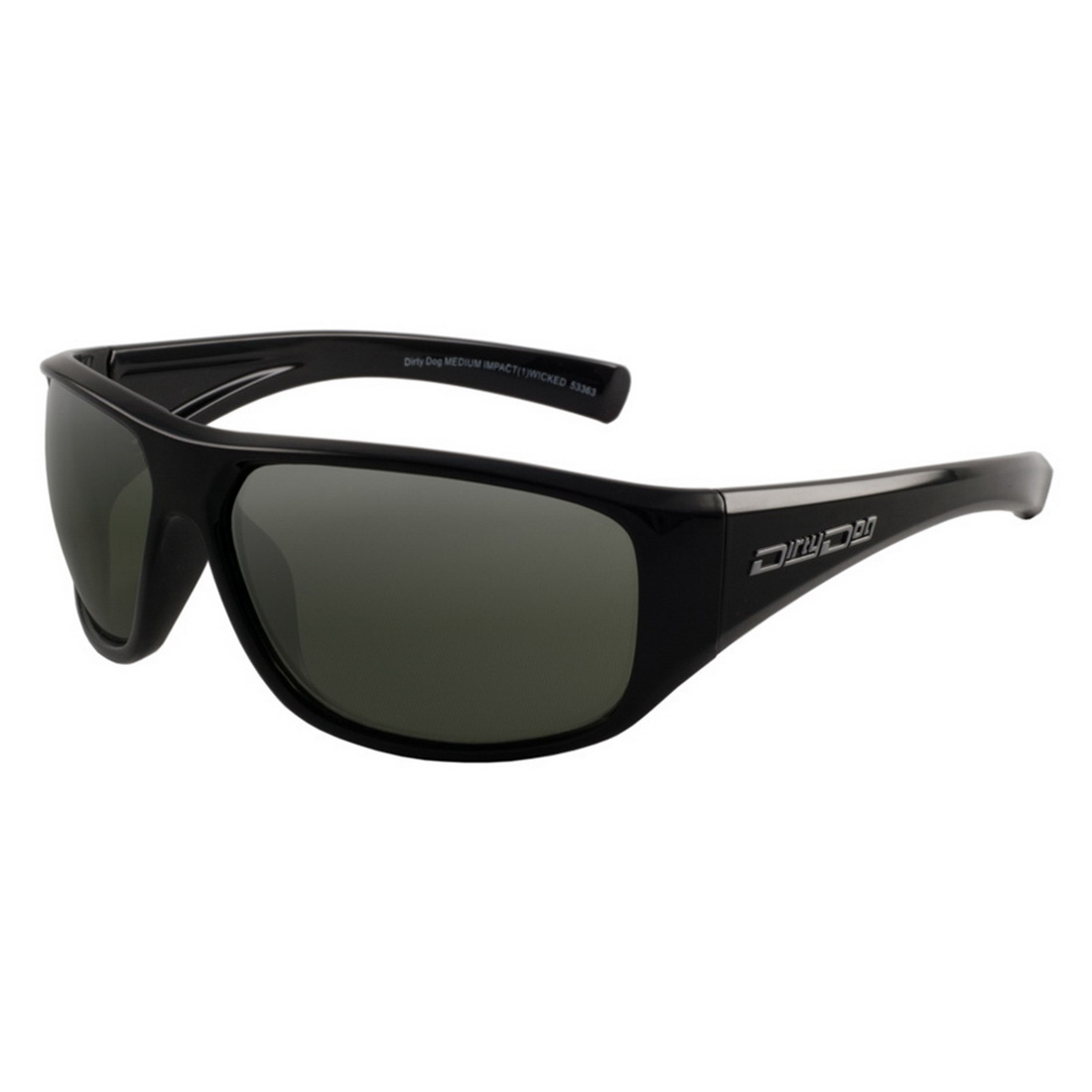 Wicked Safety Glass Black Frame