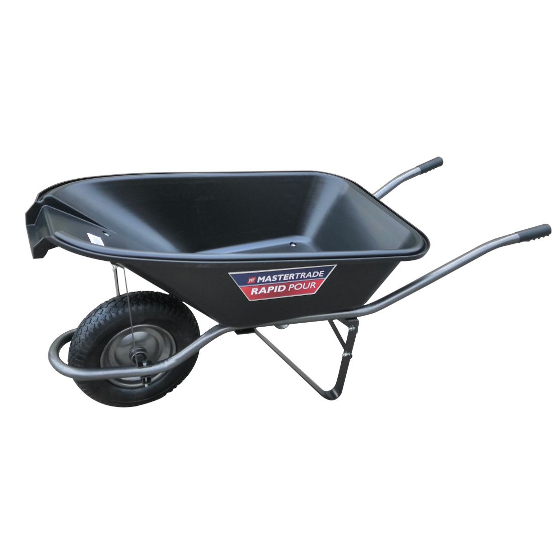 Rapid Pour Wheelbarrow 75L Black