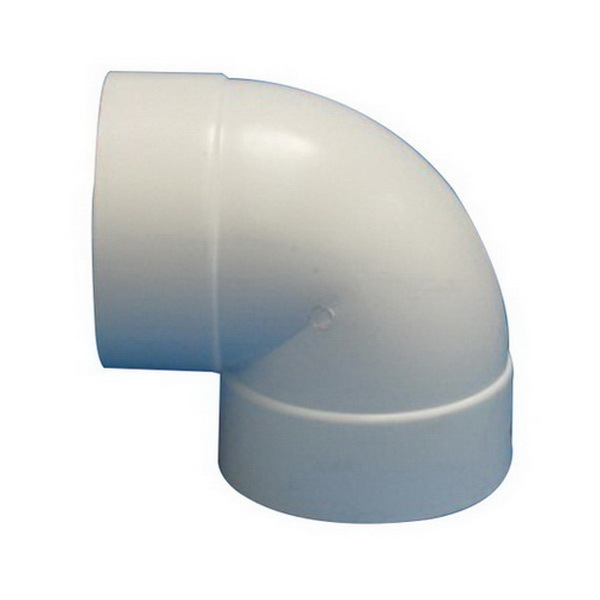 Stormfit 701 Series 90 deg Bend 150mm Female Solvent Cement Joint PVC-U White or Dark Grey