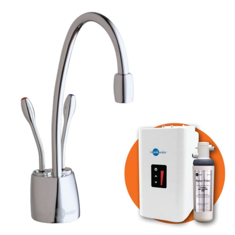 HotTap HC1100 Near-Boiling + Cold Filtered Water Tap Chrome
