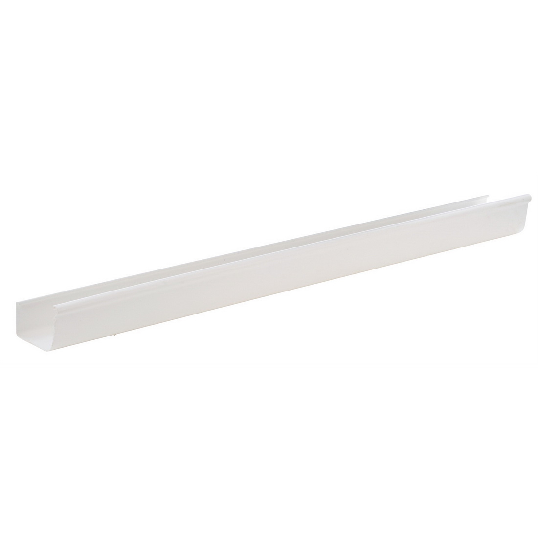 StormCold Spouting 3m x 123mm Unplasticised PVC White