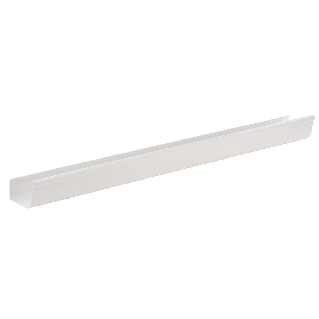 Stormcloud Spouting 5m x 123mm Unplasticised PVC White