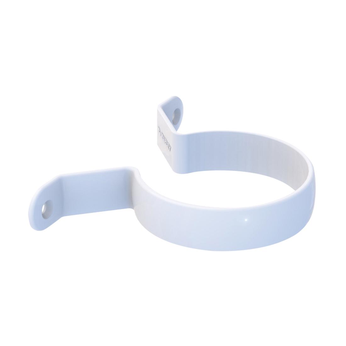 Round Pipe Clip Saddle 80mm Unplasticised PVC