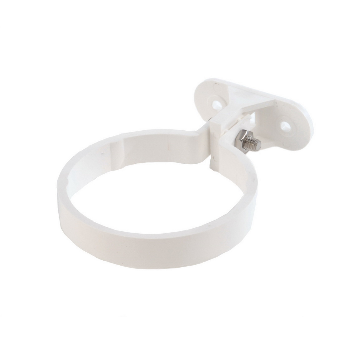 Stand-Off/2-Part Downpipe Clip 80 x 0.12mm Unplasticised PVC