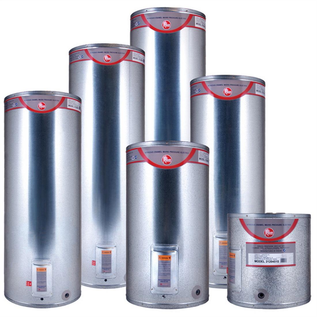 Rheem Mains Pressure Electric Hot Water Cylinder 180L 580 x 1166mm 3kW Vitreous Enamel 32218015