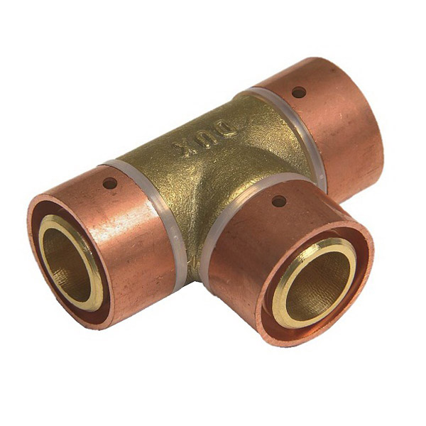 Equal Tee 15mm 90 Deg Copper