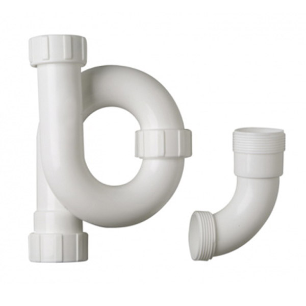 Aqualine Standard Combination S&P Trap 32mm Polypropylene White 32STD