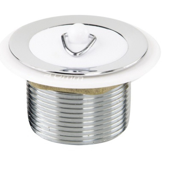 Aqualine Short Tail Basin Waste 32mm Chrome Plated 96STC