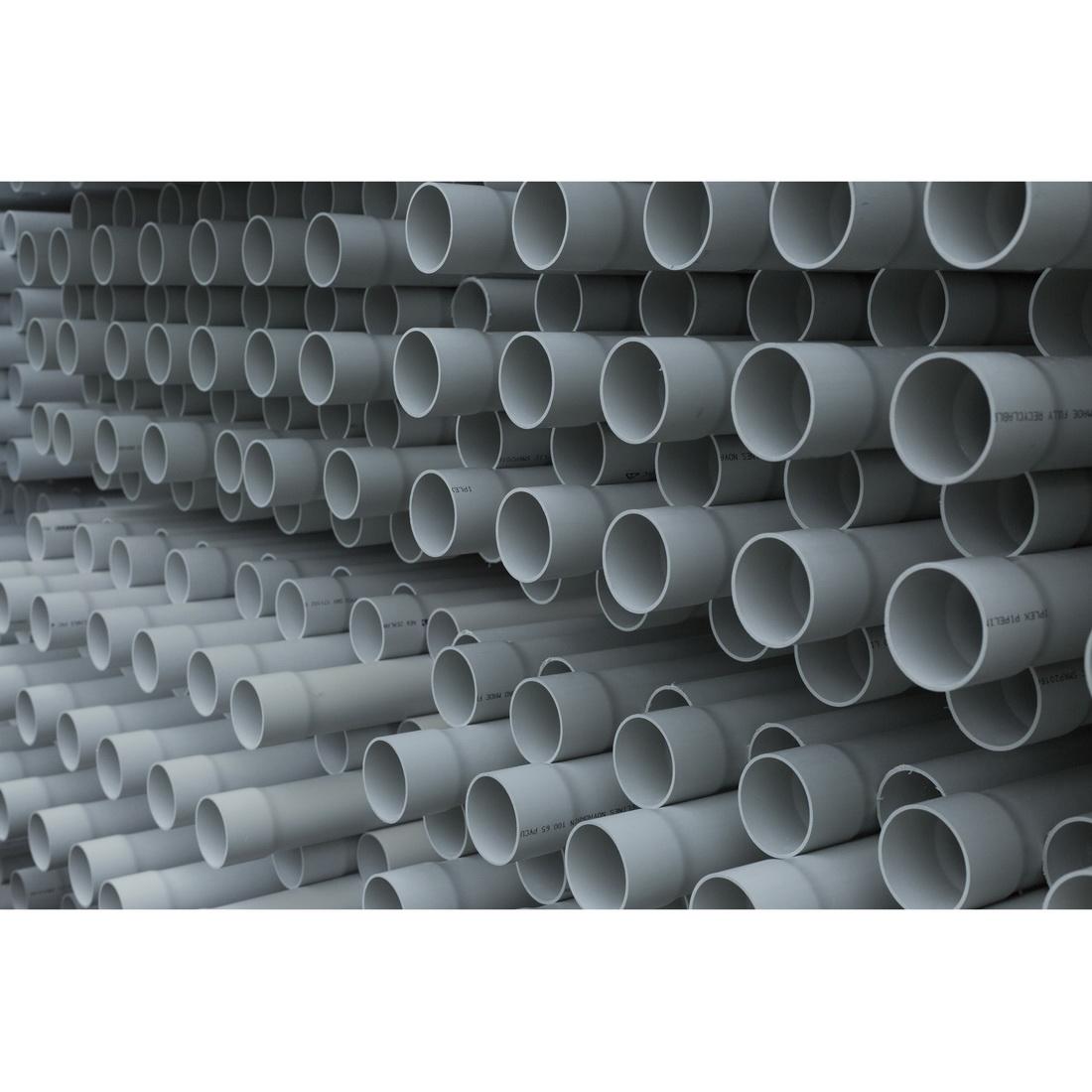 Novadrain PVC-U Drain Water Vent Pipe 40mm x 6m Socketed One End