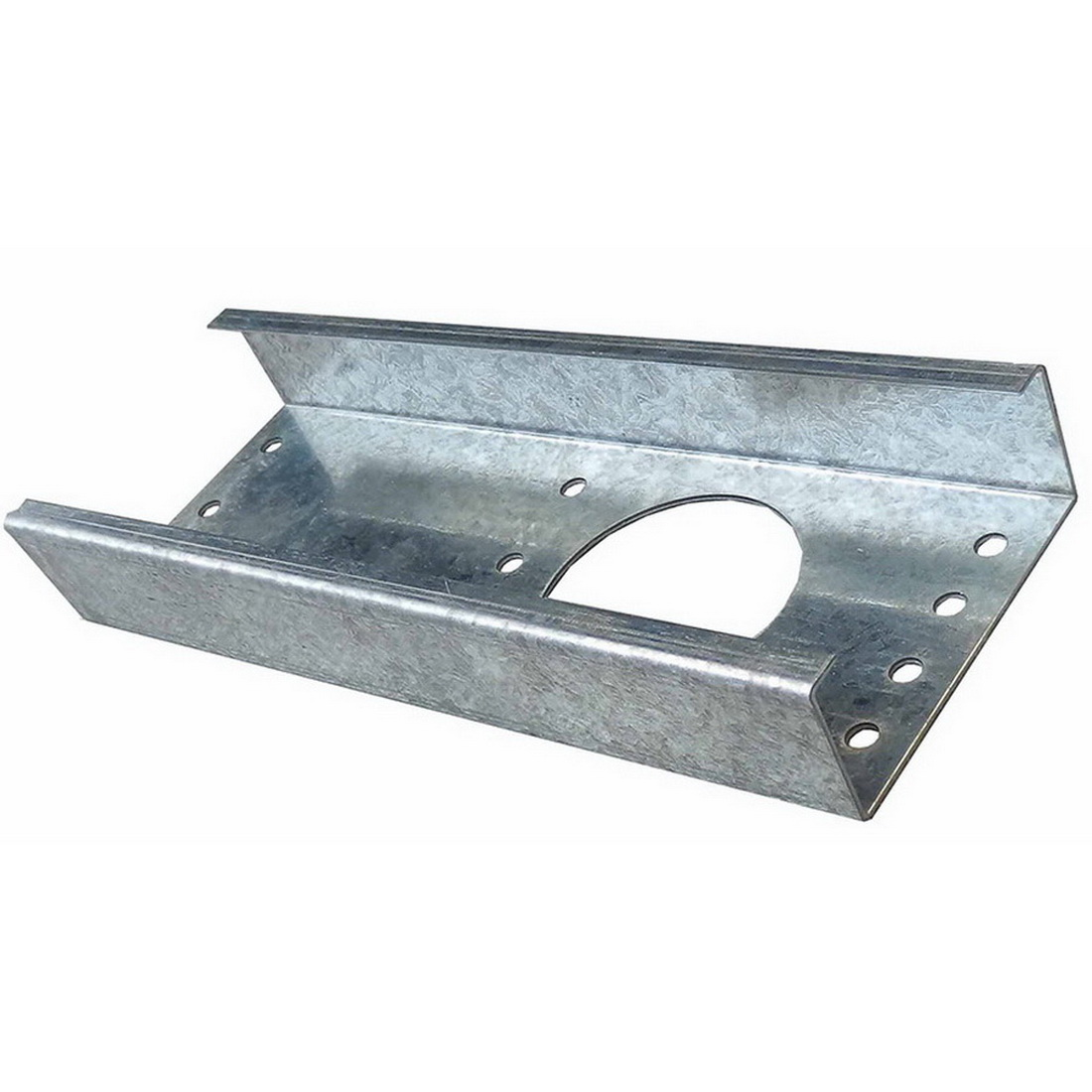 Pryda Frame Fix Drain Plate Stiffner 240 x 86 x 35mm Galvanised Steel With 10 x 14G x 75mm Tek Screw